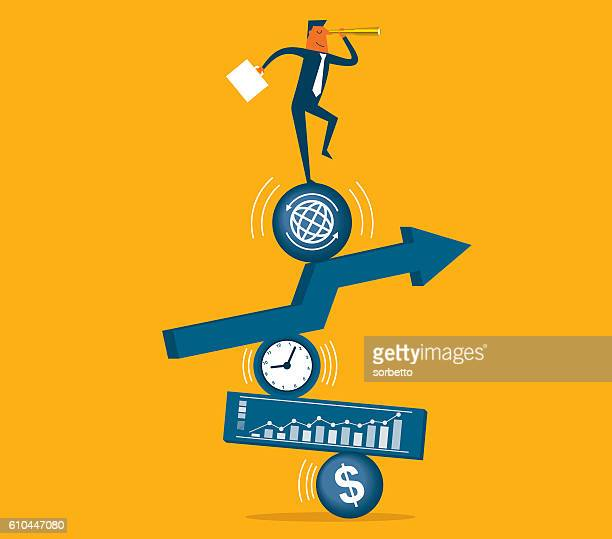 direction - balance stock illustrations