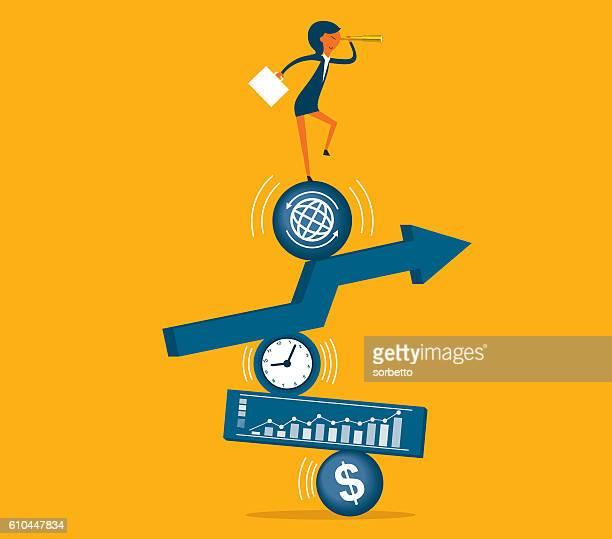 ilustraciones, imágenes clip art, dibujos animados e iconos de stock de dirección de  - uncertainty