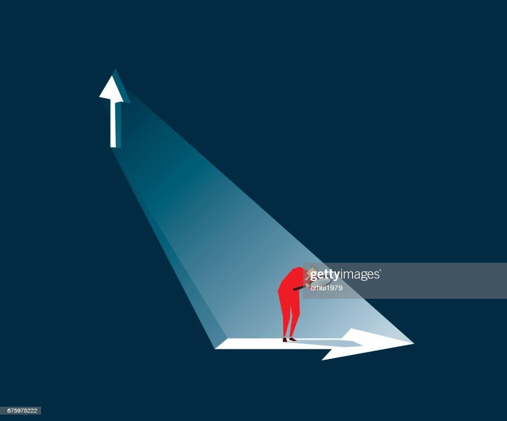 direction : stock illustration