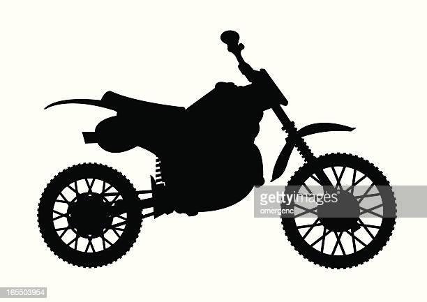 ilustraciones, imágenes clip art, dibujos animados e iconos de stock de la suciedad bicicleta - motocross