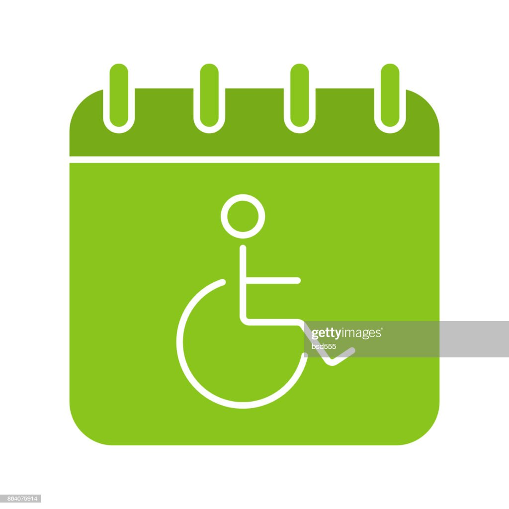 Disability day icon