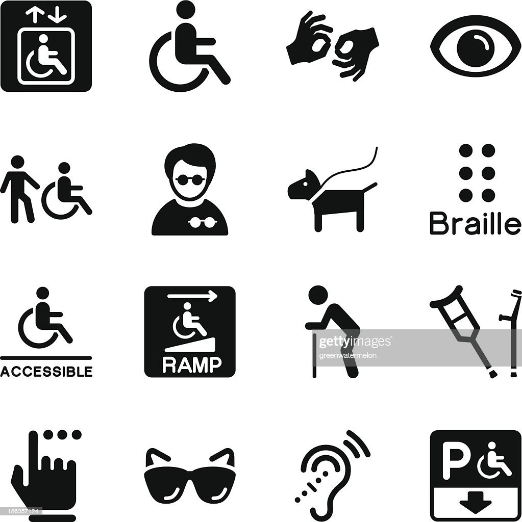 Disability Icons