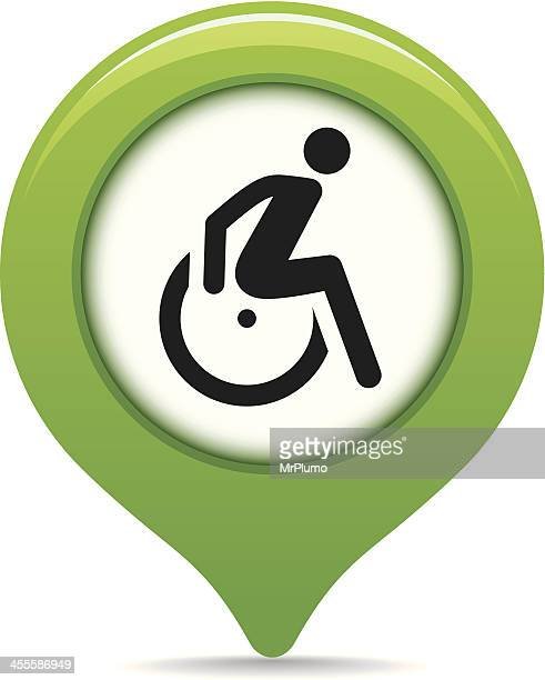 Disability map pointer