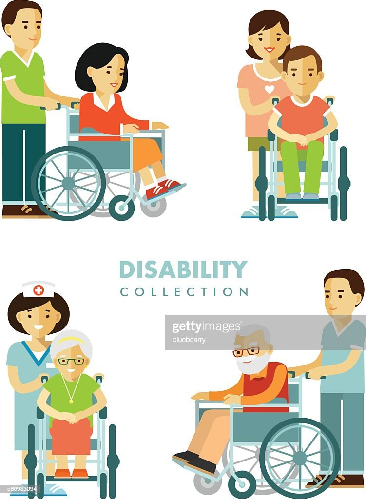 Disability persons set