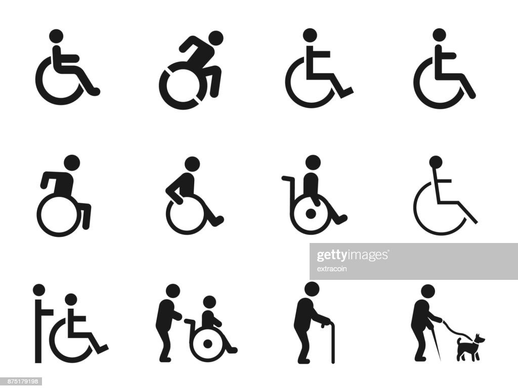 Disabled Handicap Icons