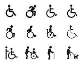 Disabled Handicap Icons