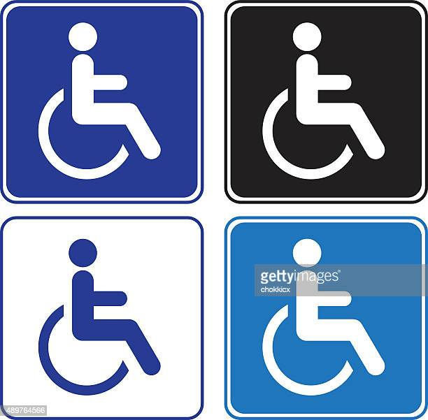 disabled or handicap signs