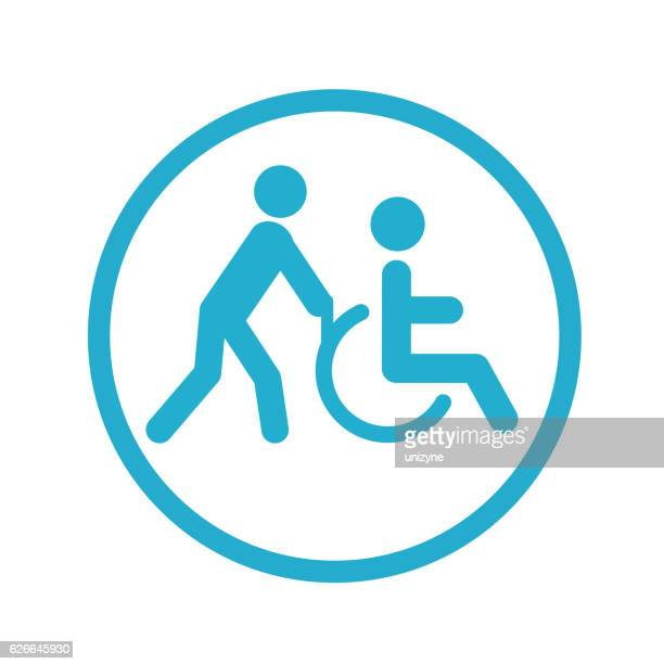 Disabled Person Transportation icon