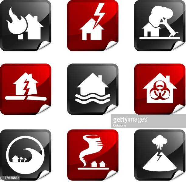 disaster royalty free icons