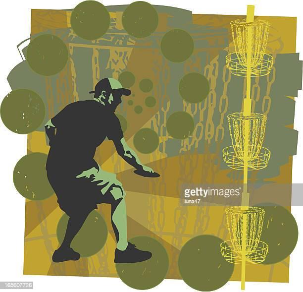 ilustrações, clipart, desenhos animados e ícones de disc golf é divertido - golf tournament