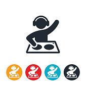 Disc Jockey Icon