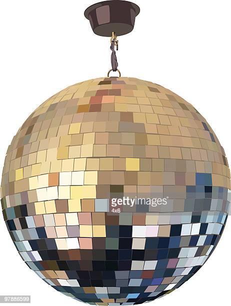 disco ball - disco ball stock illustrations