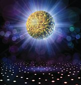 Disco Ball with Rays