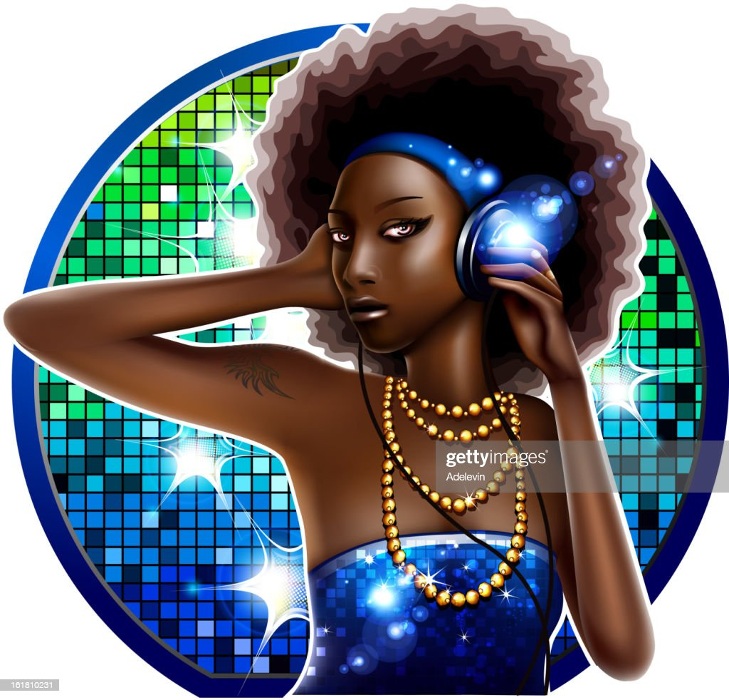 Disco Black girl