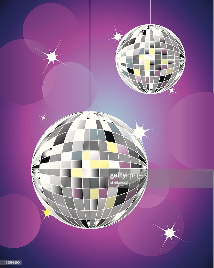 Disco Mirrored Balls