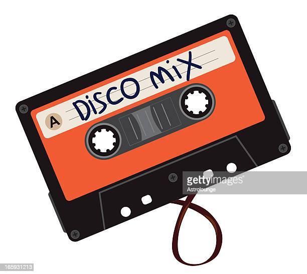 Discoteca mezclar cassette