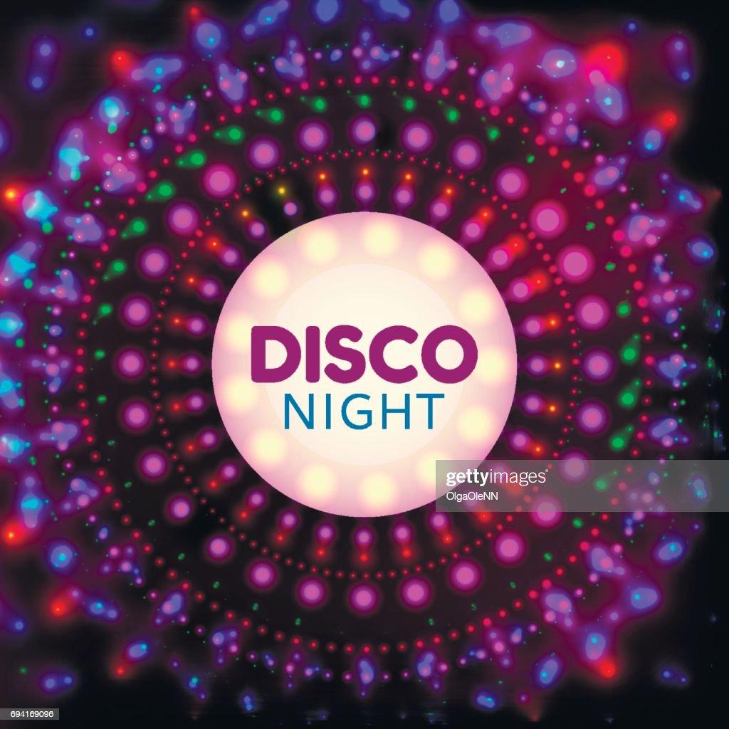 Disco night banner2
