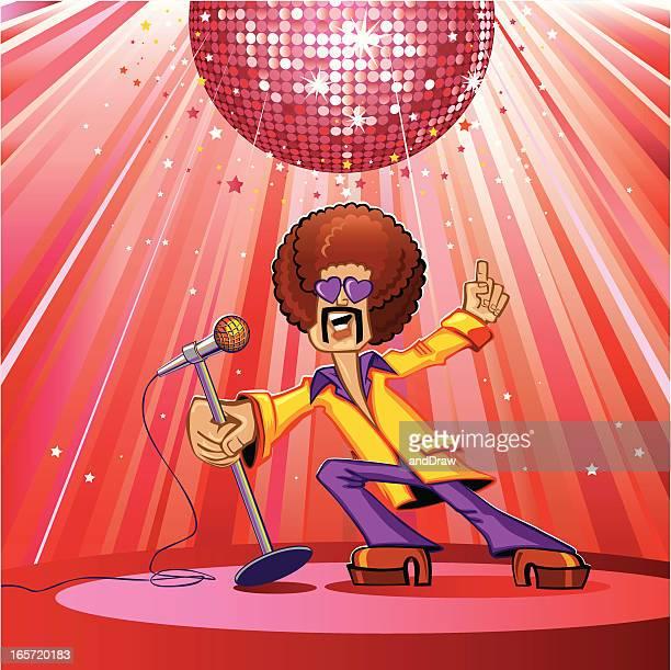 Disco singer