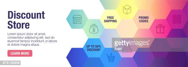 discount store banner - free wallpapers stock illustrations