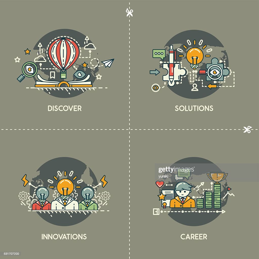 Discover, solutions, innovations, career