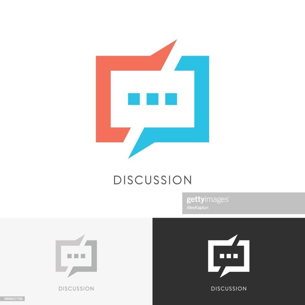 Discussion split symbol