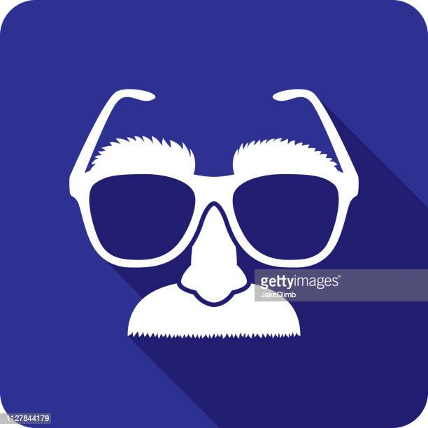disguise icon silhouette - unrecognisable person stock illustrations