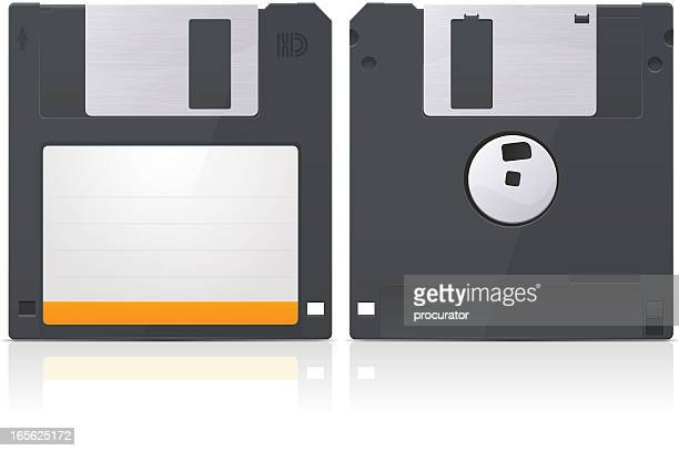 diskette - floppy disk stock illustrations, clip art, cartoons, & icons
