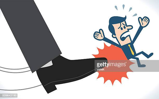 dismission - office politics stock illustrations, clip art, cartoons, & icons