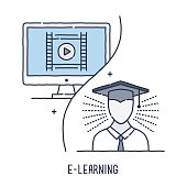 Distance Learning Symbol