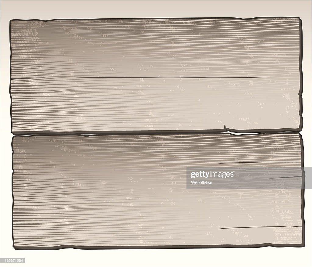 Distressed Wood Planks