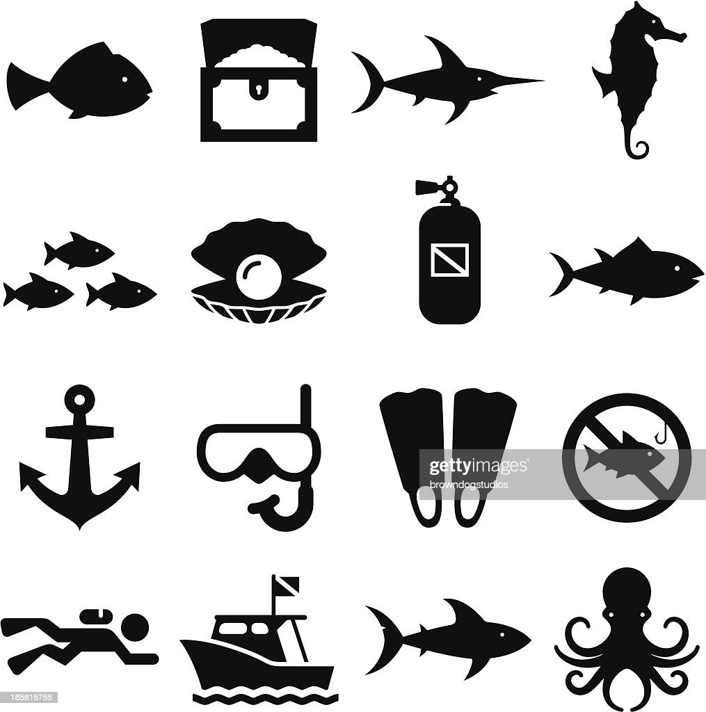 Dive Icons - Black Series