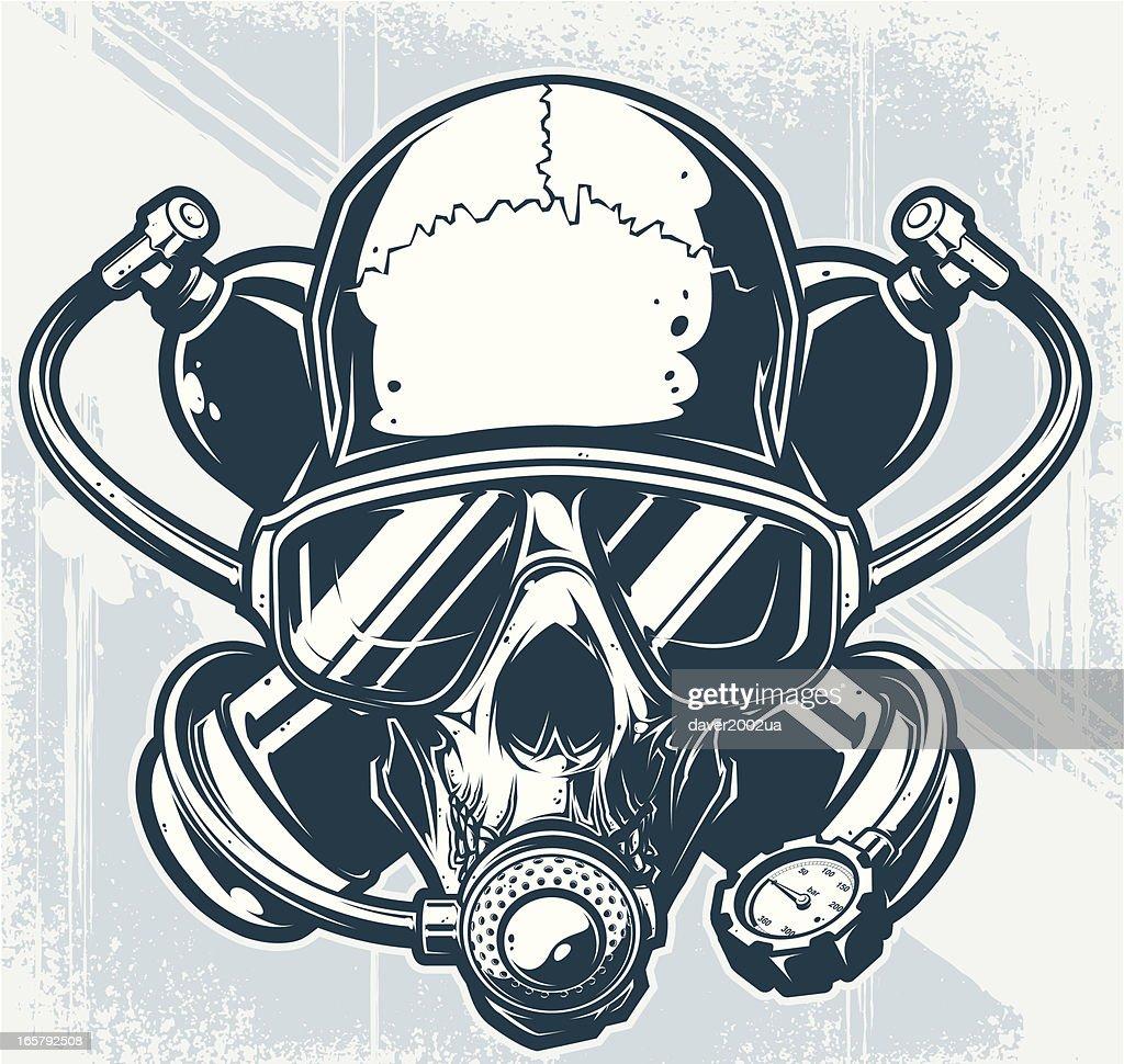 diver skull