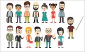 diverse business people  collection