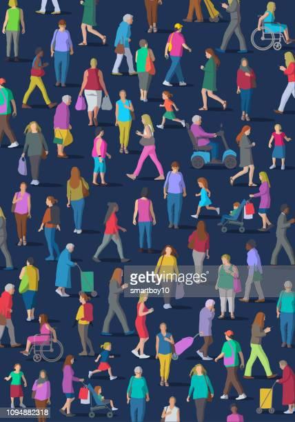 ilustraciones, imágenes clip art, dibujos animados e iconos de stock de grupo diverso de mujeres - diversidad cultural