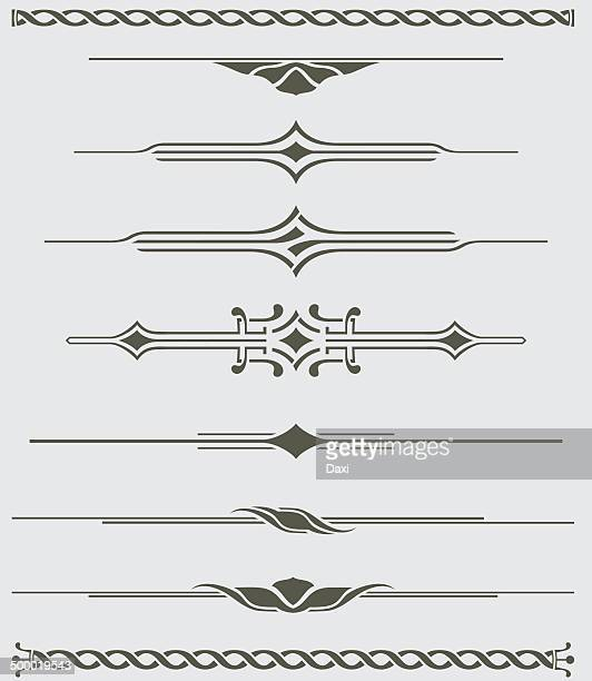 Dividers - Decorative Illustration