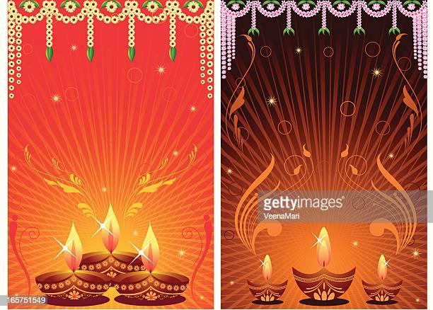 diwali background - spirituality stock illustrations
