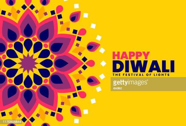 diwali celebration template - diwali stock illustrations
