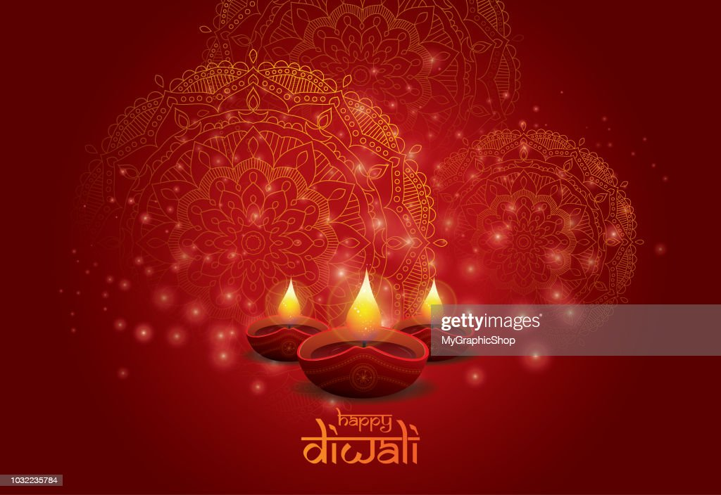 Diwali Festival Background Design Template