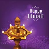Diwali graphic background