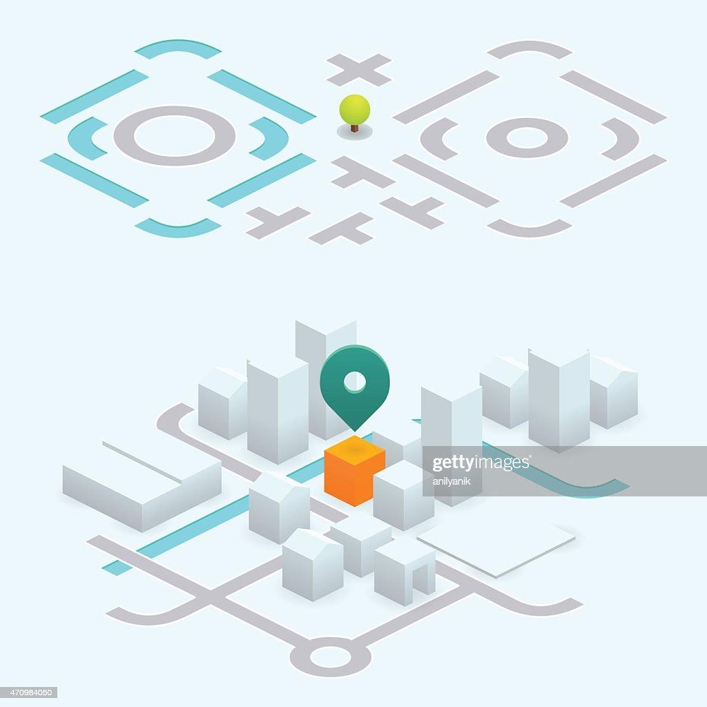 Do it yourself map kit 266 isometric vector art getty images do it yourself map kit 266 isometric vector art solutioingenieria Choice Image