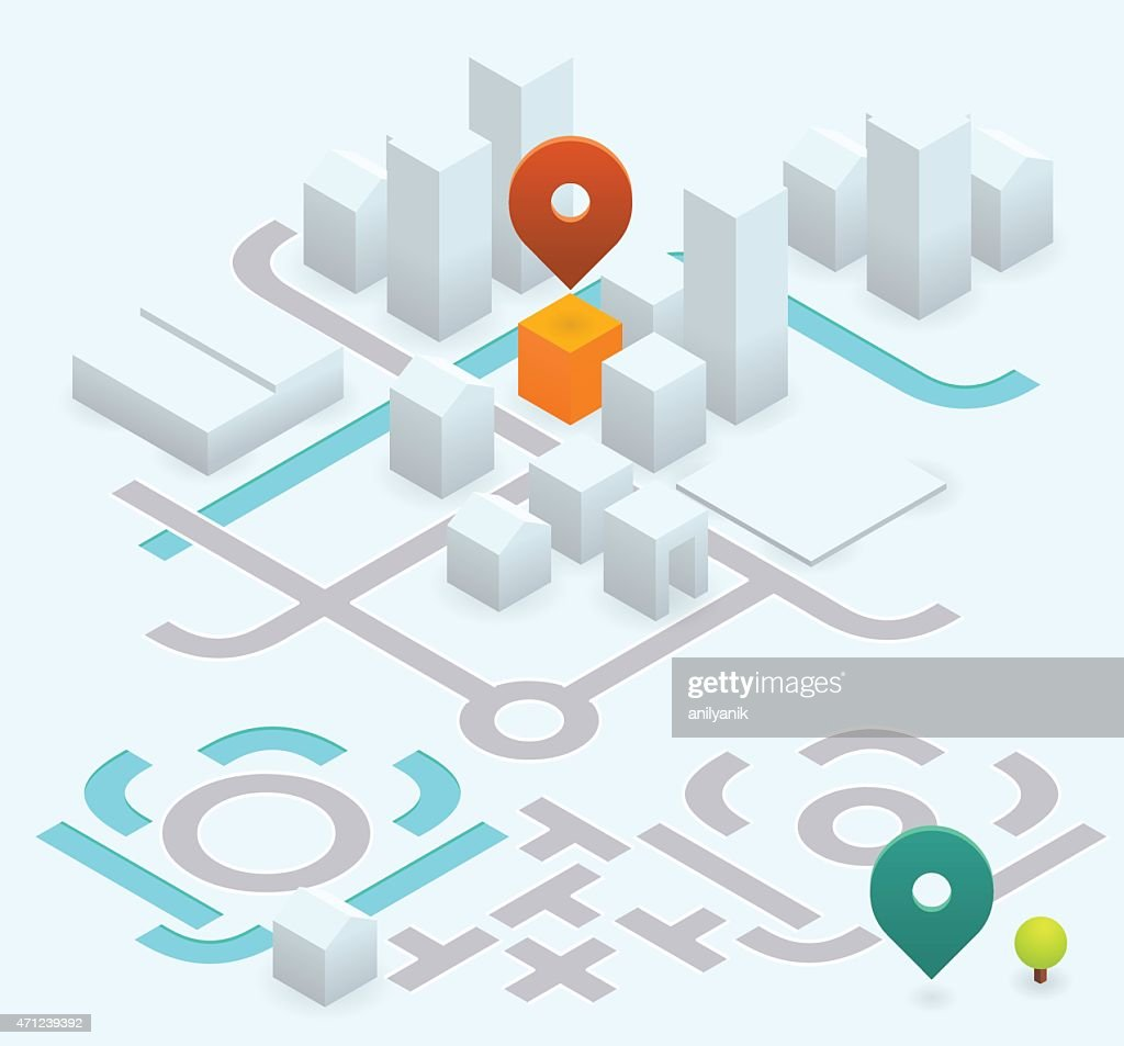 do it yourself map kit - 30° isometric
