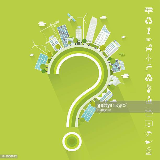Do You Live In Smart City Concept