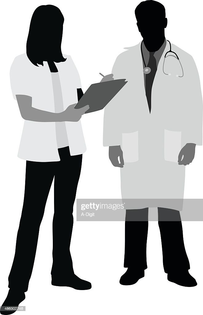 Doctor And Nurse Taking Notes