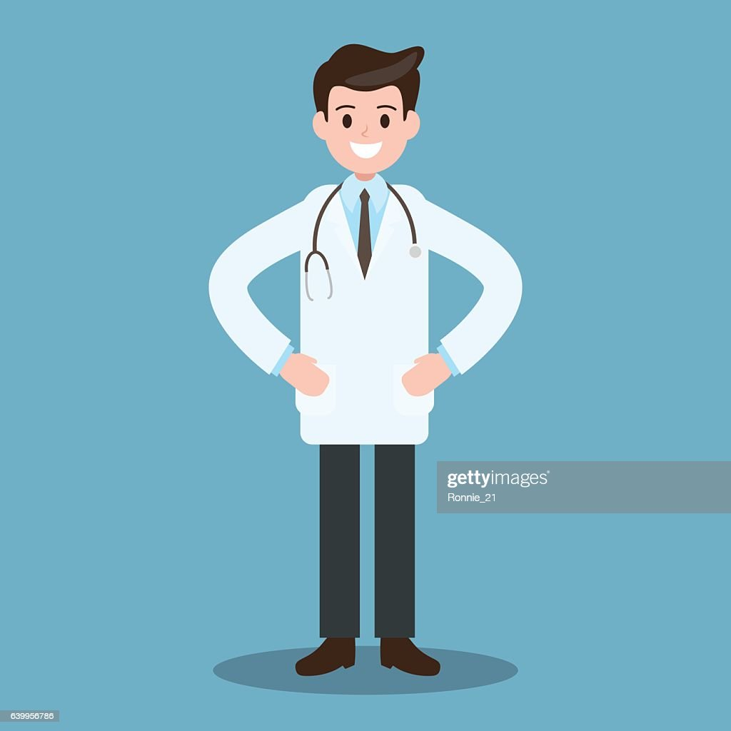 Doctor character , avatar. Healthcare Job , Worker , Occupation.