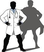 Doctor Super Hero Silhouette