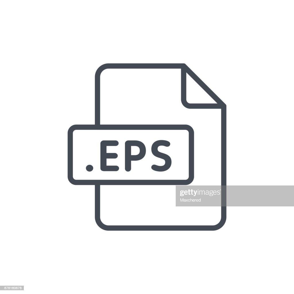 Document Files line vector EPS
