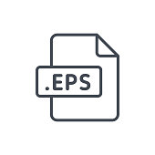 Document Files line vector EPS
