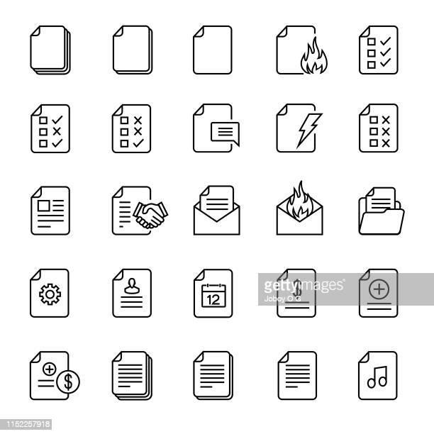 ilustrações, clipart, desenhos animados e ícones de ícone do documento - mensagem de erro