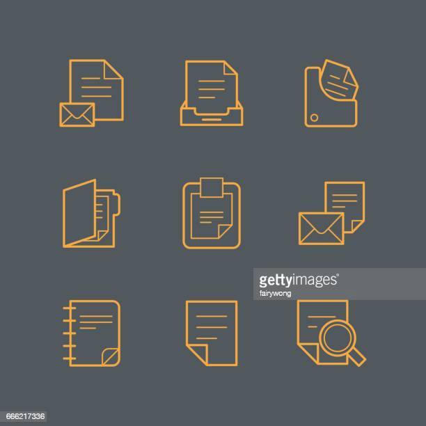 Documentpictogrammen