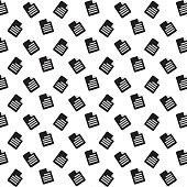Document icon,Vector illustration Background.